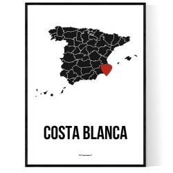 Costa Blanca Heart