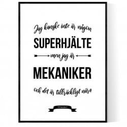 Mekaniker Hjälte Poster