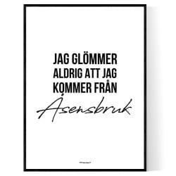 Från Åsensbruk