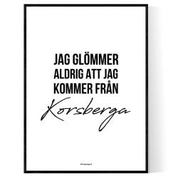 Från Korsberga