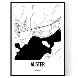 Alster Karta