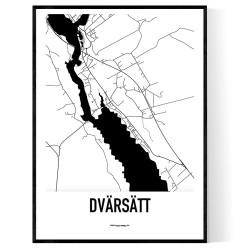 Dvärsätt Karta