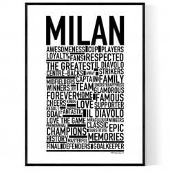 Team Milan Poster