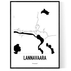 Lannavaara Karta