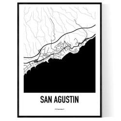 San Agustin Karta