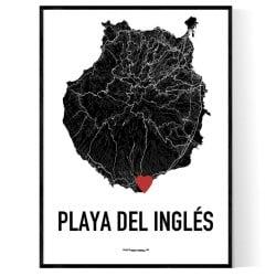 Playa del Inglés Heart