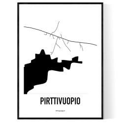 Pirttivuopio Karta