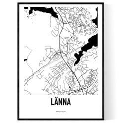 Länna Karta