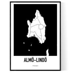 Almö-Lindö Karta