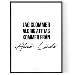 Från Almö-Lindö