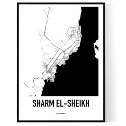 Sharm el-Sheikh Karta Poster