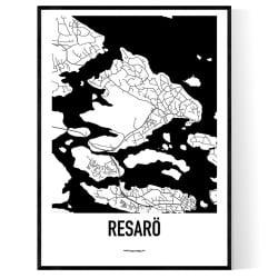 Resarö Karta