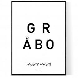 Gråbo Optik Poster