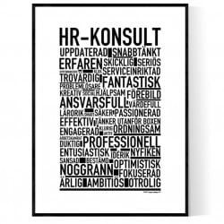 HR-konsult Poster