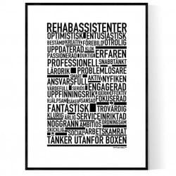 Rehabassistenter Poster