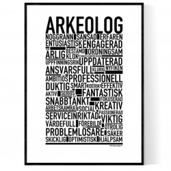 Arkeolog Poster