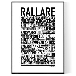 Rallare Poster