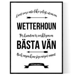 Livet Med Wetterhoun