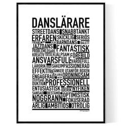 Danslärare Poster