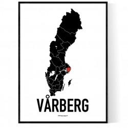 Vårberg Heart Poster