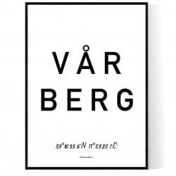 Vårberg Optik Poster