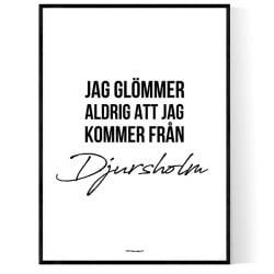 Från Djursholm
