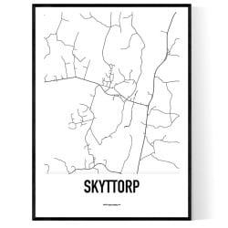 Skyttorp Karta