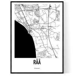 Råå Karta