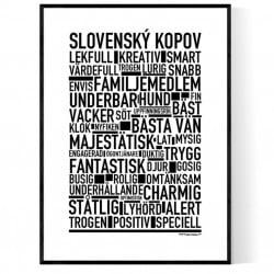 Slovenský Kopov Poster