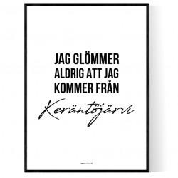 Från Keräntöjärvi