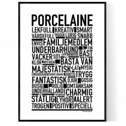 Porcelaine Poster