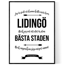 Från Lidingö