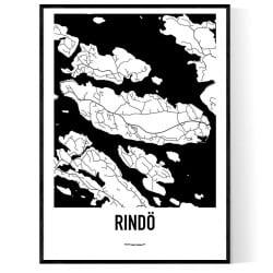 Rindö Karta