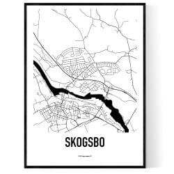 Skogsbo Karta