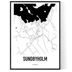 Sundbyholm Karta Poster