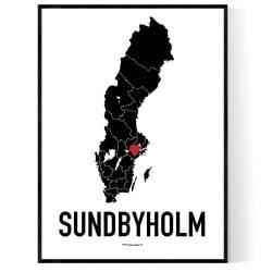 Sundbyholm Heart Poster