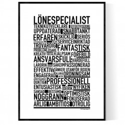 Lönespecialist Poster