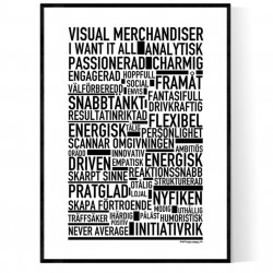 Visual Merchandiser Poster
