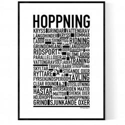 Hoppning Poster