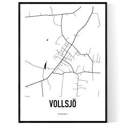 Vollsjö Karta