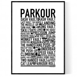 Parkour Poster
