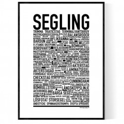 Segling Poster