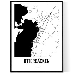 Otterbäcken Karta