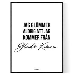 Från Gladö Kvarn