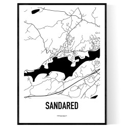 Sandared Karta