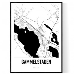 Gammelstaden Karta