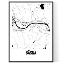 Bäsna Karta