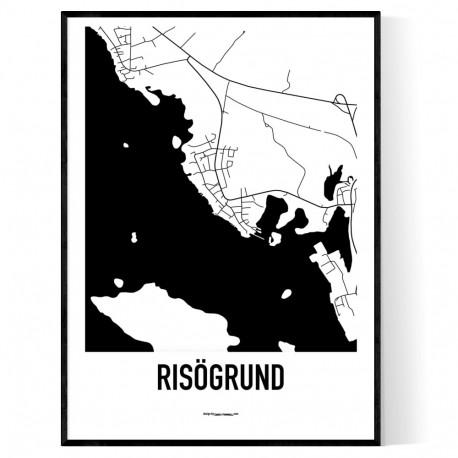 Risögrund Karta
