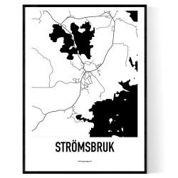 Strömsbruk Karta
