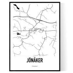 Jönåker Karta
